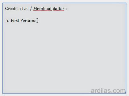 Posting / Membuat Artikel di Add Post - Cara Memakai HTMLy
