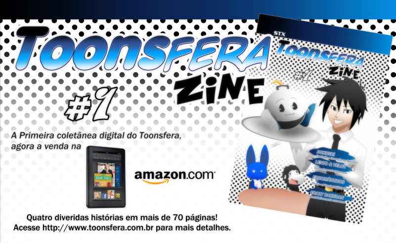 Revista Digital Toonsfera Zine #01 á venda na AMAZON