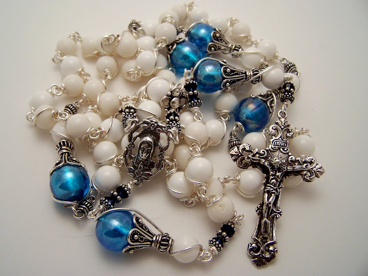 No. 63.  Our Lady Of Fatima Rosary,  (SOLD)