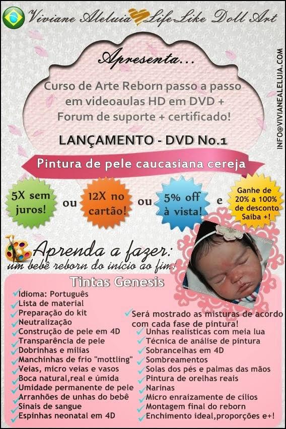 Curso de Arte Reborn em DVD e HD! em Portuguës!