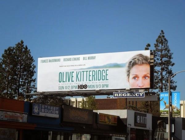 Olive Kitteridge HBO miniseries billboard