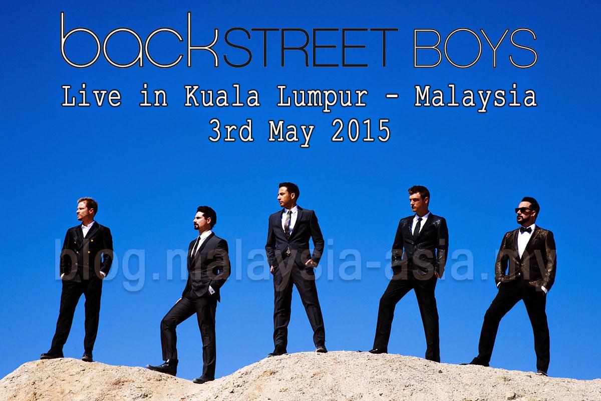 Backstreet Boys Live Concert KL Malaysia 2015