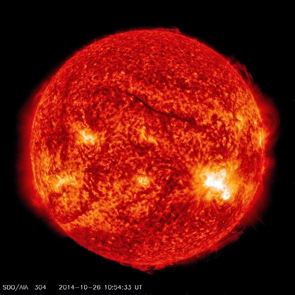 Mancha solar 2192