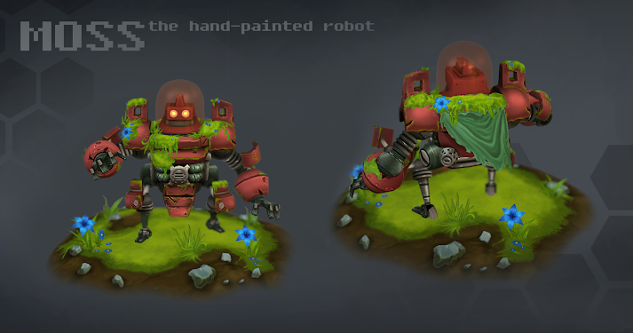 Hand Painted Robots