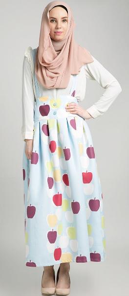 Gambar Baju Muslim Pesta Wanita