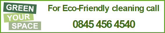 green cleaning in London