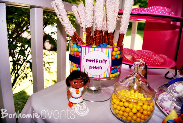Dora the Explorer Party bonhomieEVENTS Connecticut
