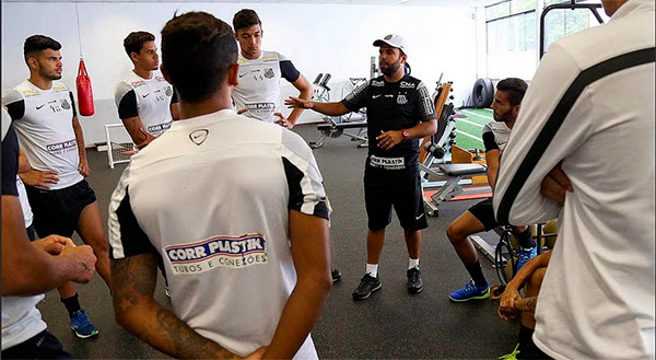 Imagem original do site oficial do Santos