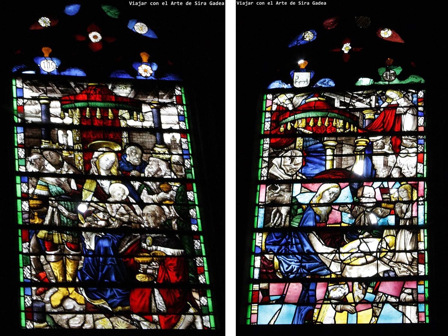Vidrieras Museo catedral Ávila