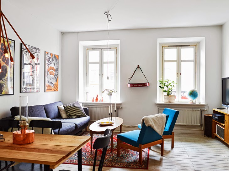 Film lover\'s Danish modern flat - Amazing Apartment Interior Design ...