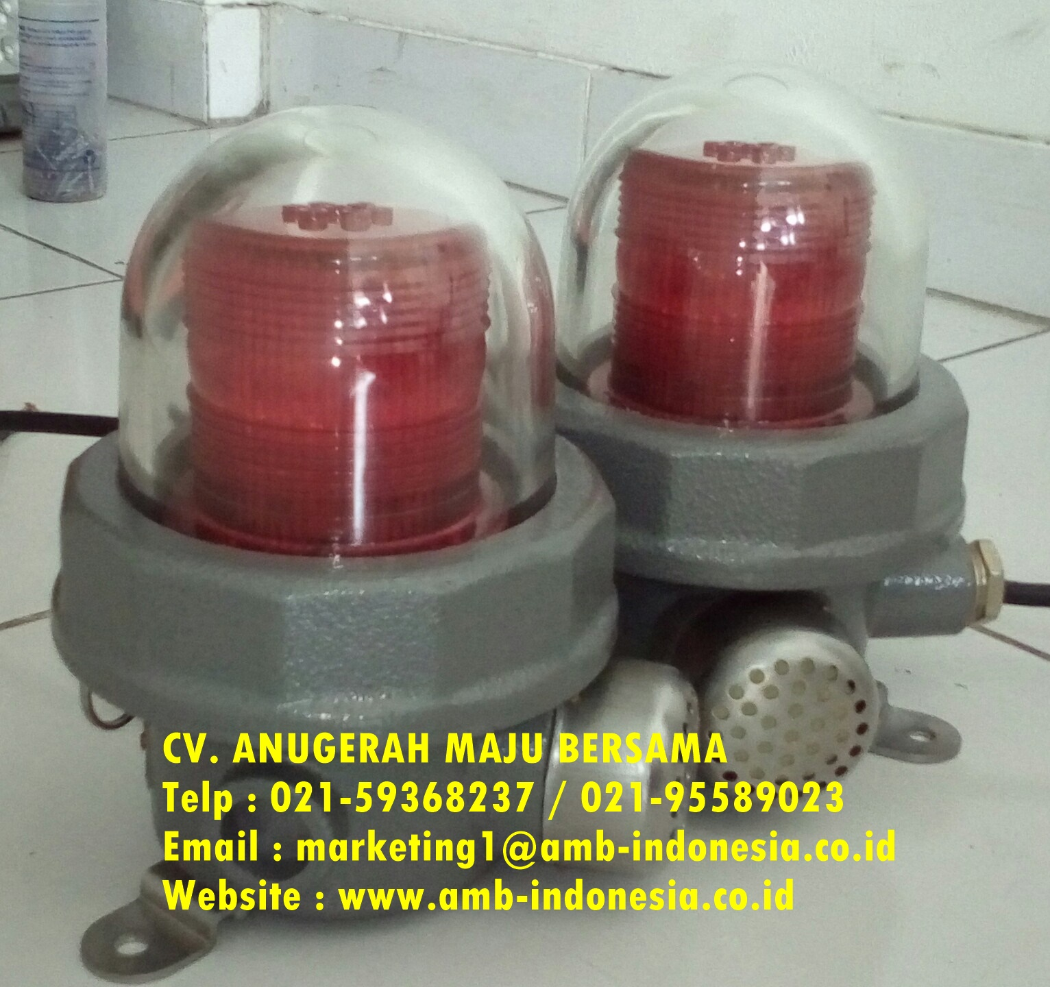 Electrical Explosion Proof : Jual Lampu Strobo Rotary Lamp