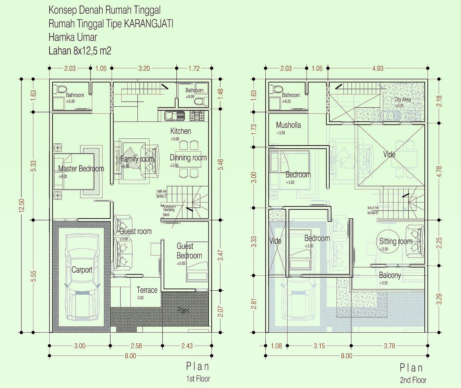 Model Rumah Minimalis Type 60 Tingkat 2 Lantai 2016 Prathama