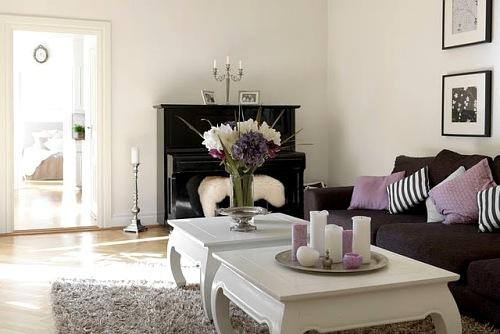 Decorando dormitorios como decorar un centro de mesa for Como decorar mesa de centro