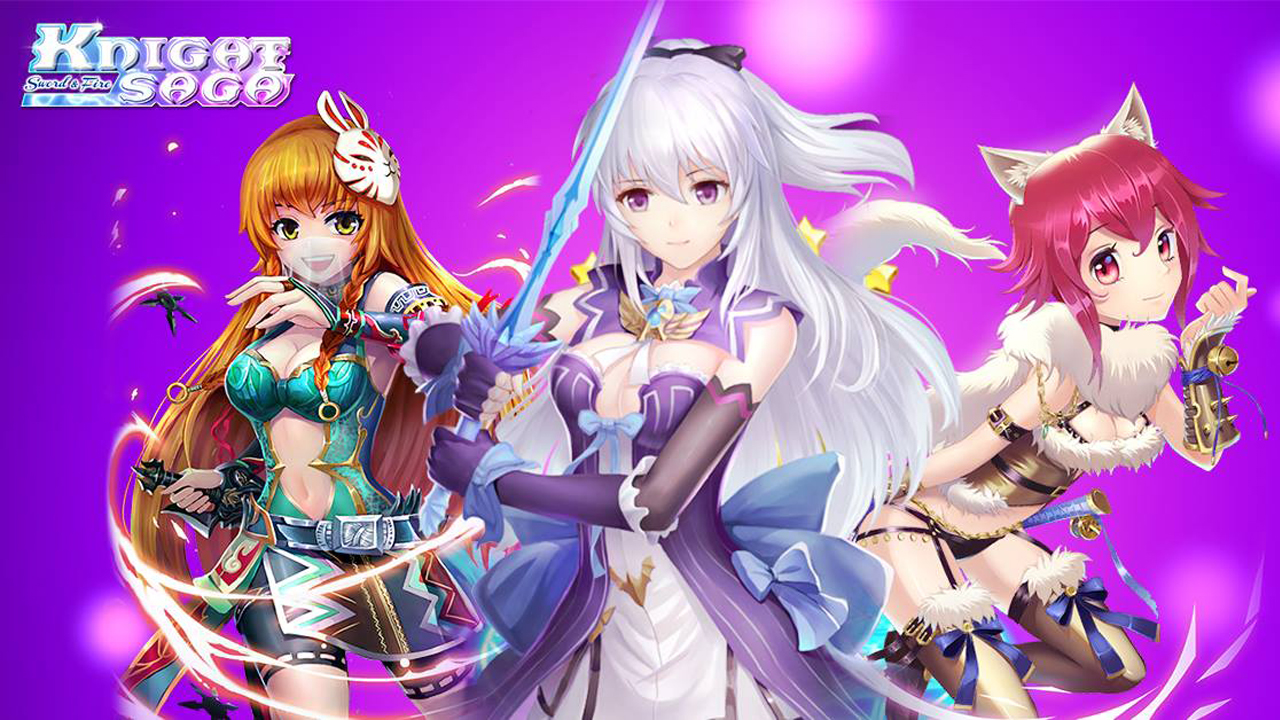 Knight Saga: Sword & Fire Gameplay IOS / Android