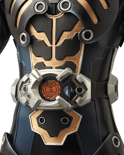 "Medicom RAH Kamen Rider Alternative Zero 12"" figure - Ryuki"