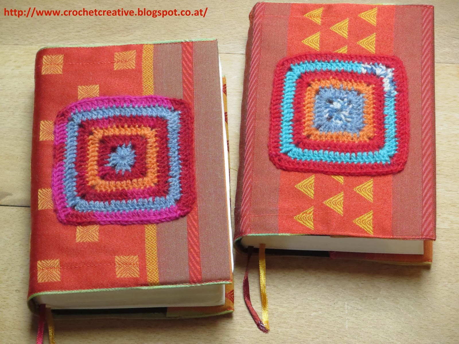Book Cover Crochet Granny : Crochet more simple patchwork vest and book cover