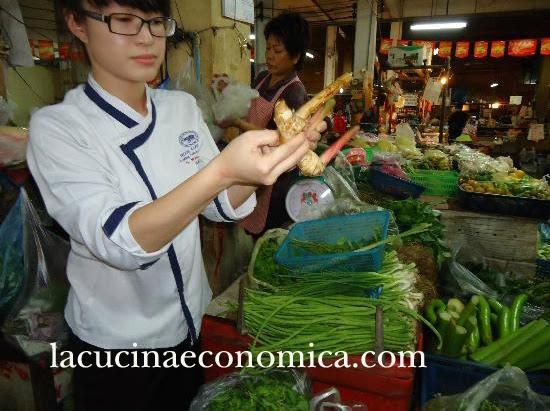 scuola di cucina al blue elephant. lezione quarta: ' thai vegetables'