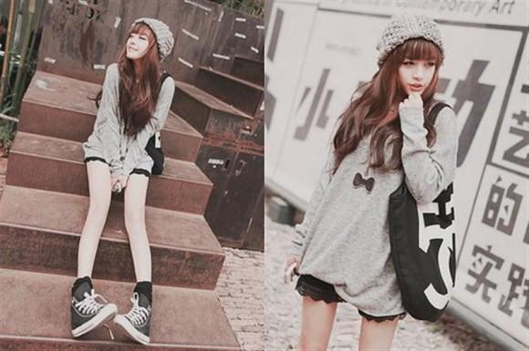 Trend Fashion Trend Baju Kuliah Dan Jalan Jalan Ala Korea