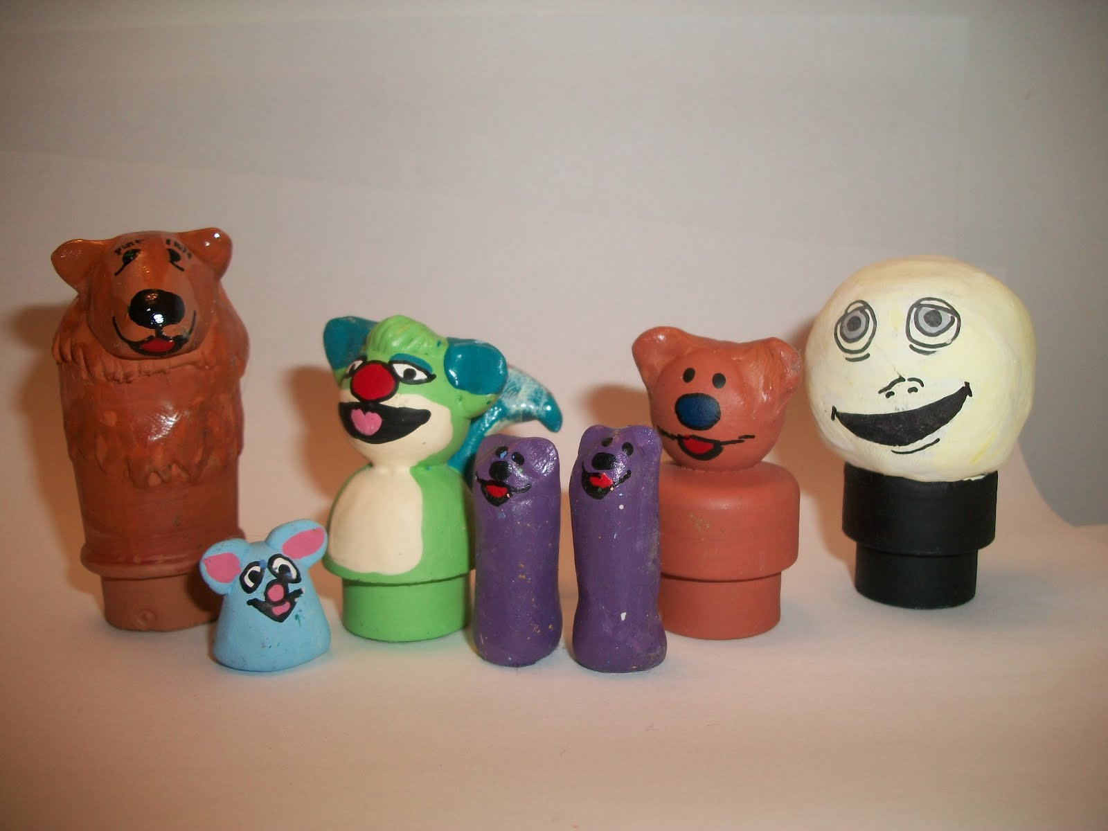 quinnarama bear in the big blue house fisher price little people