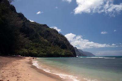 Typical Kauai beach