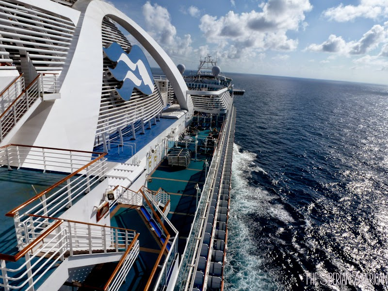 The Siberian American Cruise Ship Review Emerald Princess - Cruise out of houston