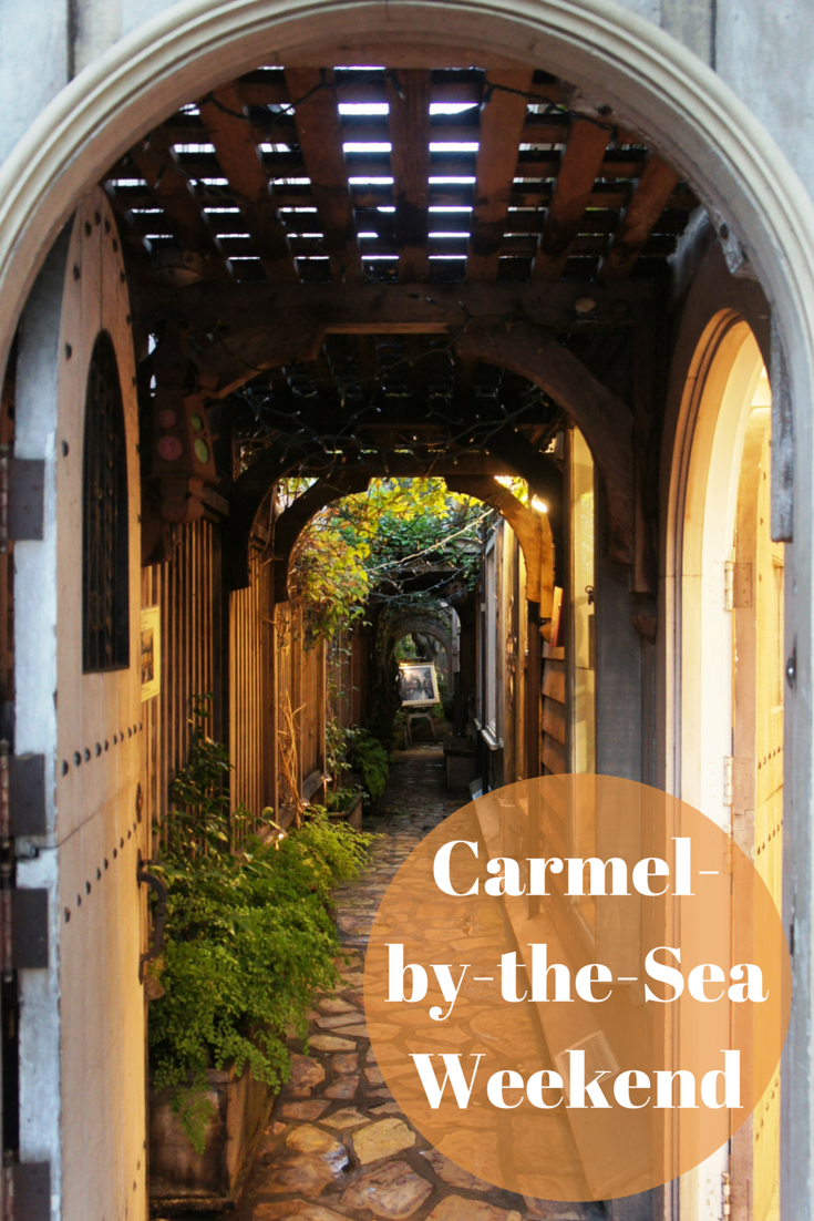 A weekend getaway to california s carmel by the sea for Best weekend getaways california