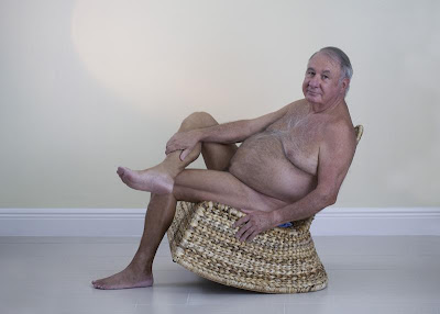 naked gay grandpa - old gay nude