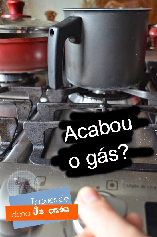 Como trocar o gás de cozinha - com uma dica de segurança!