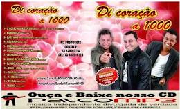 Novo cd oficial  Di Coração a 1000