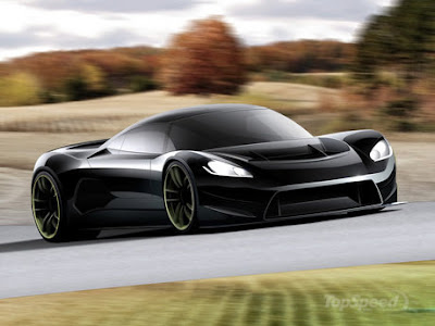 Front of RZ Ultima Concept car