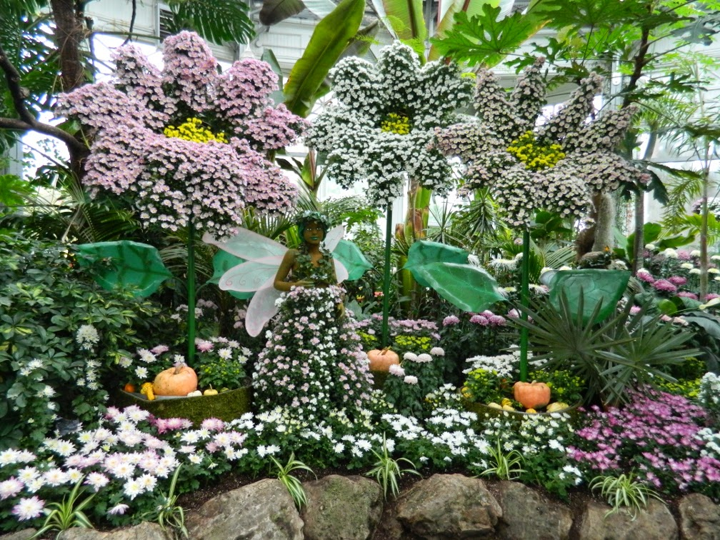 Allan Gardens Conservatory Fall Chrysanthemum Show 2014 fairy gardening by garden muses-not another Toronto gardening blog