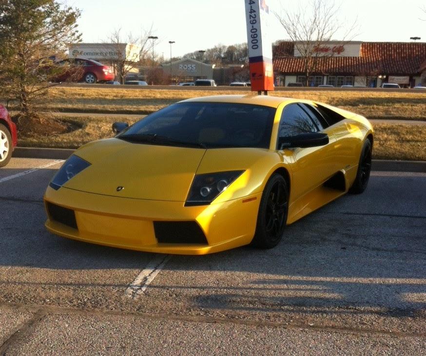 Car Watching: Lamborghini Murcielago