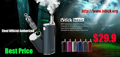 The Lastest Eleaf iStick Starter Kit was launched