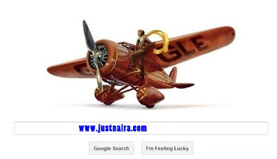 Google-Doodles-Amelia-Earhart-115th-Birthday