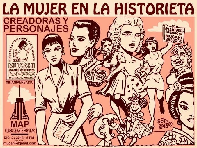XIII Aniversario del Museo de la Caricatura y la Historieta MUCAHI