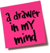 a drawer in my mind