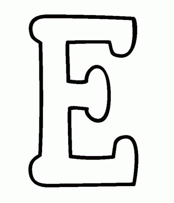 dibujos de puntos y colorear: colorear la letra E y la F