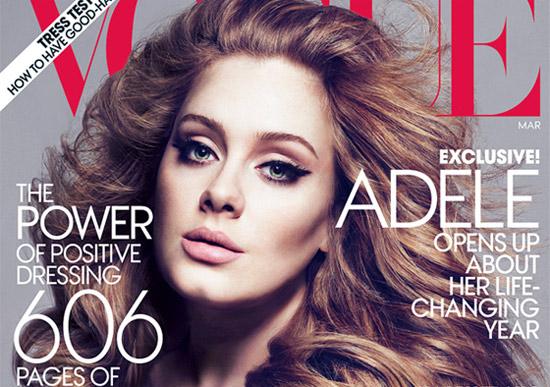 Adele, une beauté à couper le souffle en couverture du magazine Vogue