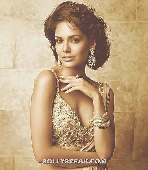 Esha Gupta Cleavage show in this Gown - Esha Gupta Latest Hot Pics - June 2012