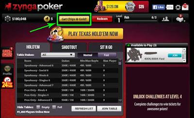 Bandar Chips Poker zynga terpercaya