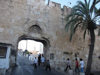 Israel, Jerusalen - Puerta de la Basura