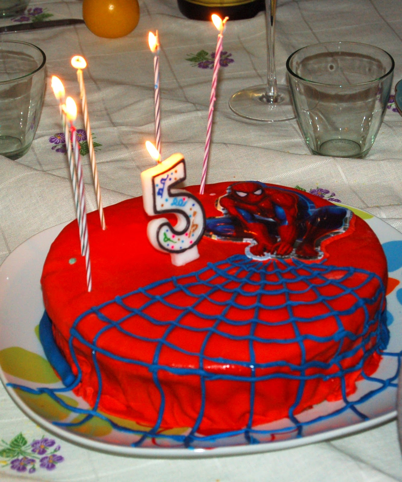 Popolare wasabi: Torta Spiderman (io da piccola lo chiamavo uomo ragnoma  YJ21
