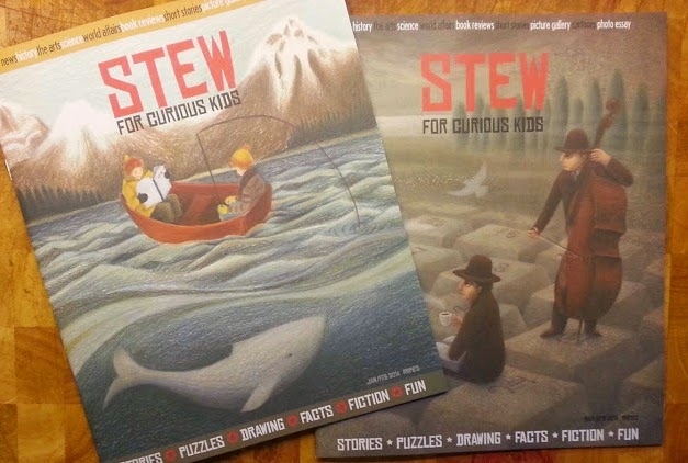 Stew Magazine for curious kids review