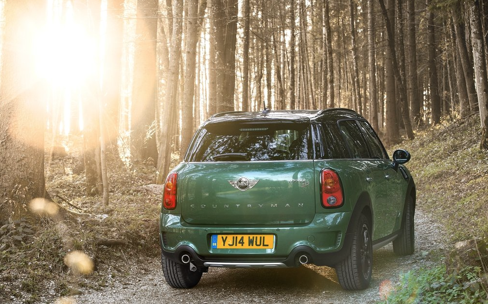 2015 Mini Countryman S Green