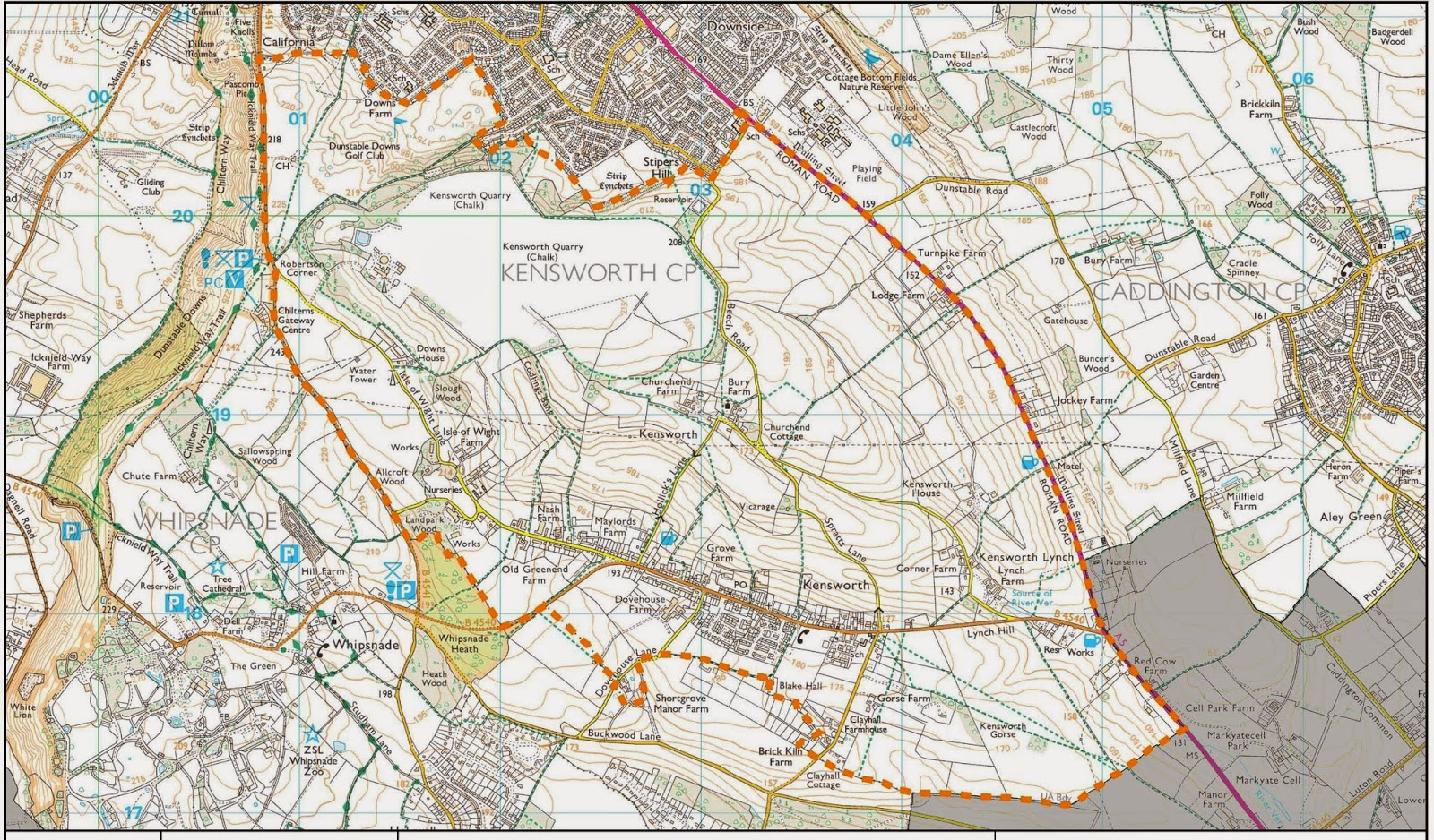 Kensworth Neighbourhood Planning Area