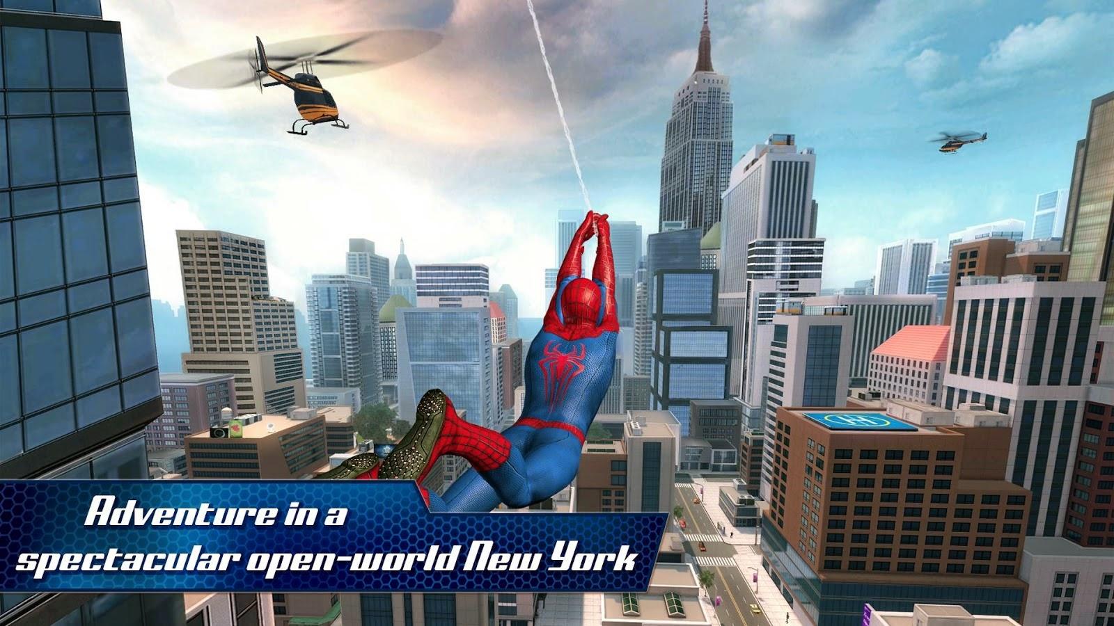 The Amazing Spider-Man 2 v1.2.0m (Offline) Apk – UdownloadU