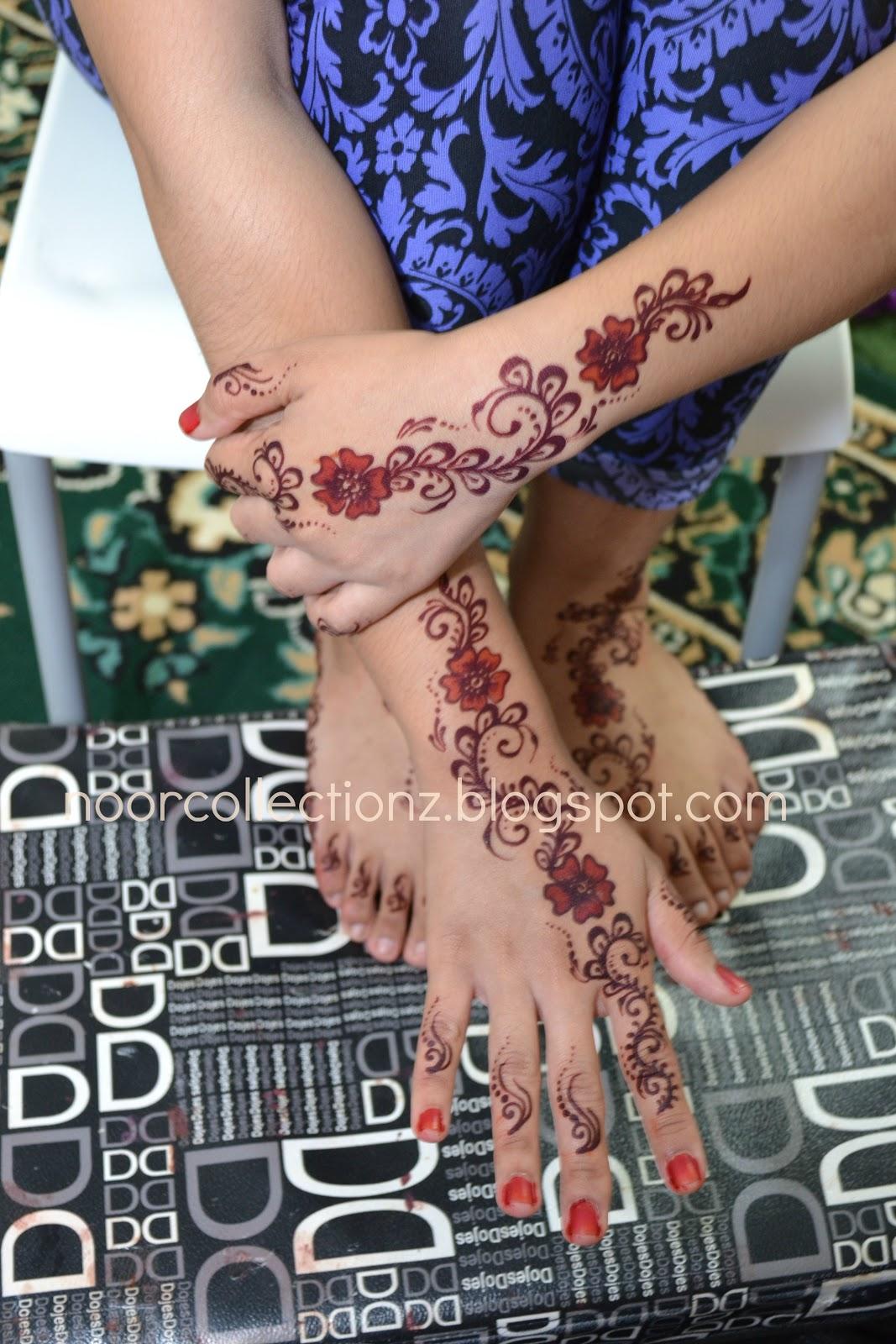 PERKHIDMATAN UKIRAN INAI PENGANTIN Henna Inai Simple Inai Nikah