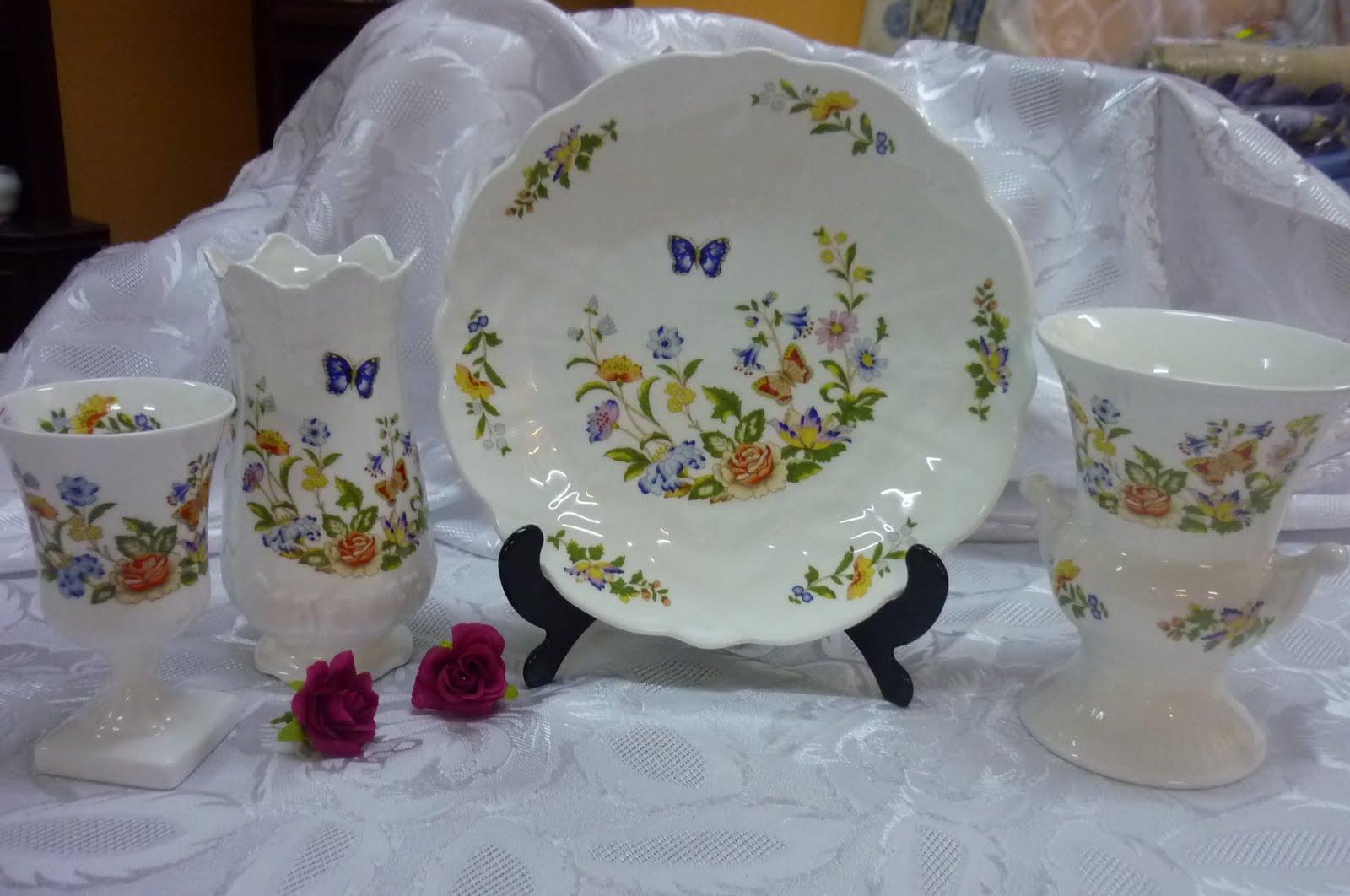 Vintage Teaware Collectibles Aynsley Cottage Garden