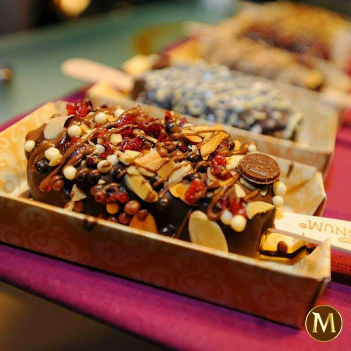 Make my Magnum Selfridges - toppings -