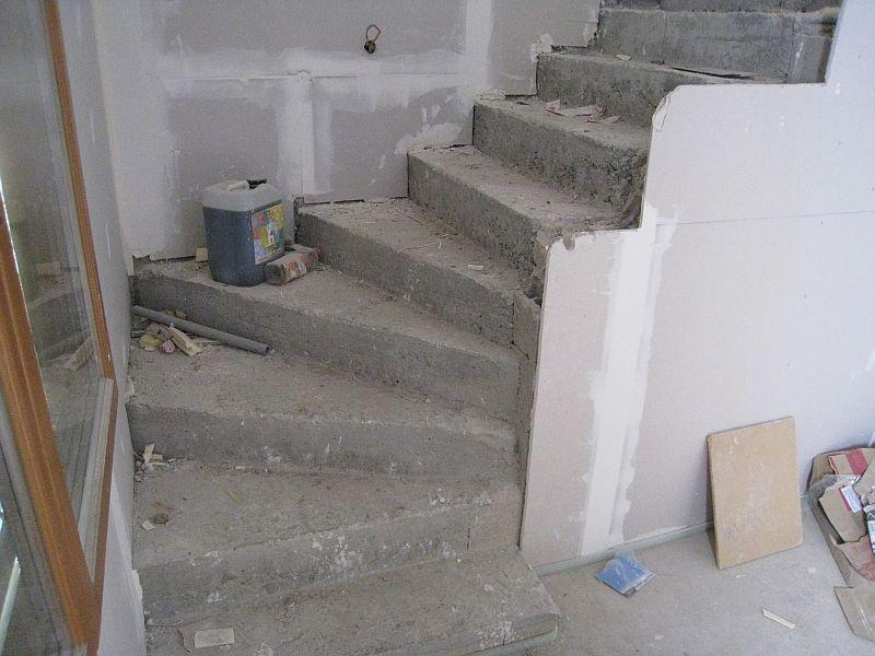 L 39 ile aux creations l 39 escalier de la maison - Escalier fait maison ...